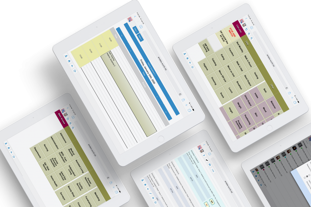 Mobile Tablet Bedside Chart